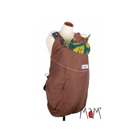 MaM ochranná kapsa DELUXE kolekcia hnedá - potlač, reflexné prvky