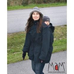 Zimná bunda MaM čierna 3 v 1