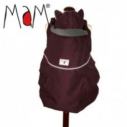 MaM ochranná kapsa zimná kolekcia Avani Burgundy - Grey Rock, reflexné prvky