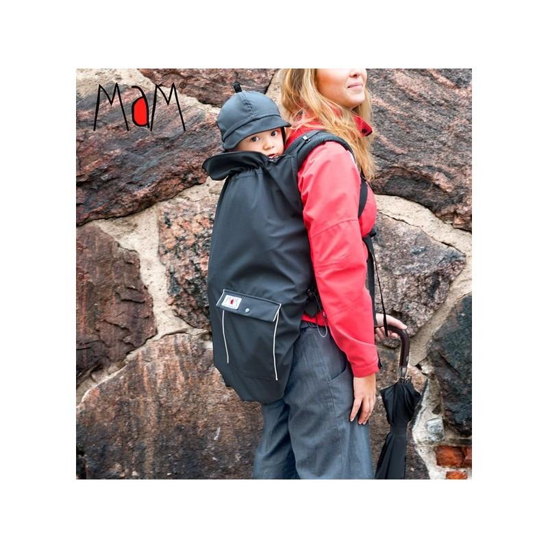 MaM ochranná kapsa All Weather čierna, reflexné prvky