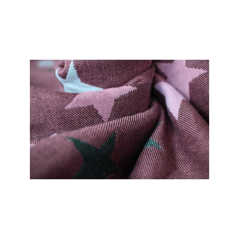 Yaro Ring Sling Stars Ultra Black Rose Mint