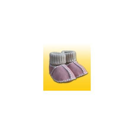 Vlnené capačky Heitmann Felle ružové