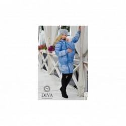 Bunda zimná  Diva Milano 3 v 1 Celeste