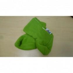 Fleesové čižmičky zelené