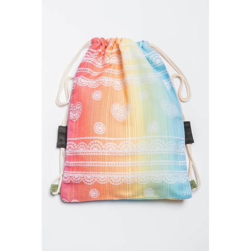 Vrecko/ruksak Rainbow Lace