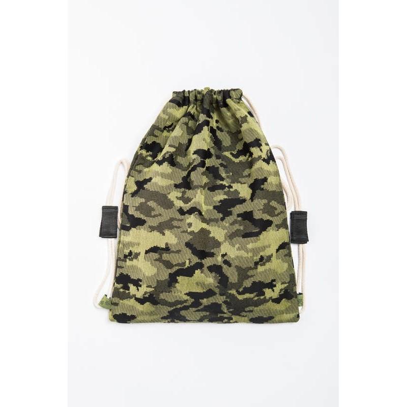 Vrecko/ruksak Green Camo