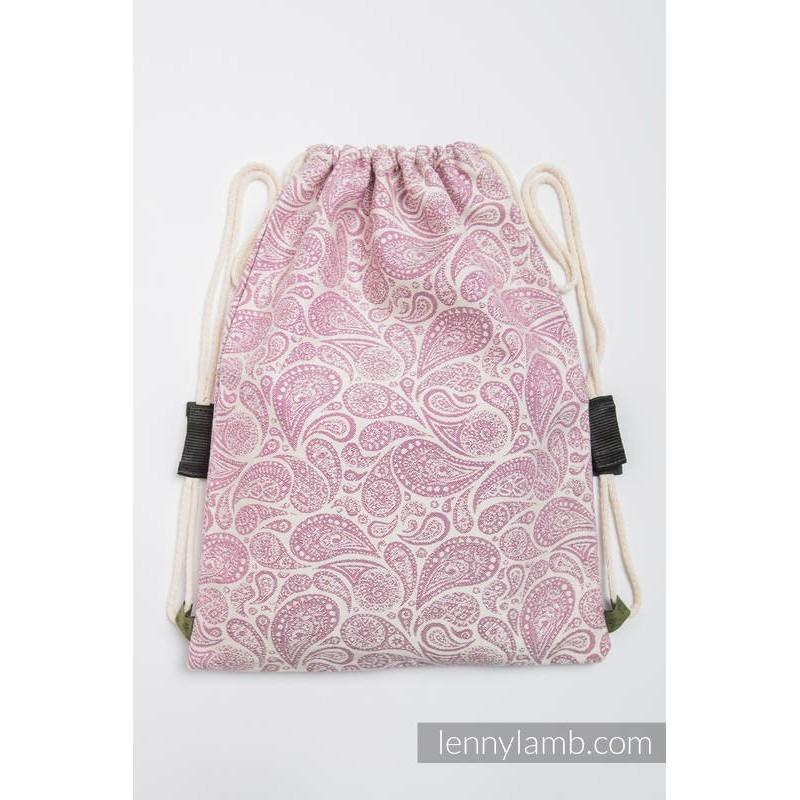 Vrecko/ruksak Paisley Purple /Cream