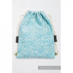 Vrecko/ruksak Paisley Turquoise /Cream