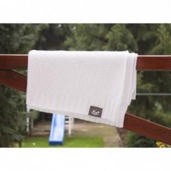 Bambusová deka Pulp biela