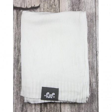 Bambusová deka Pulp biela sloniky
