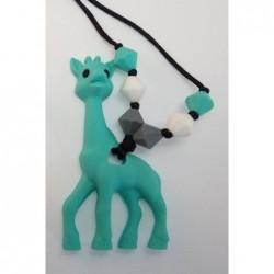Nahrdelník žirafa tyrkys