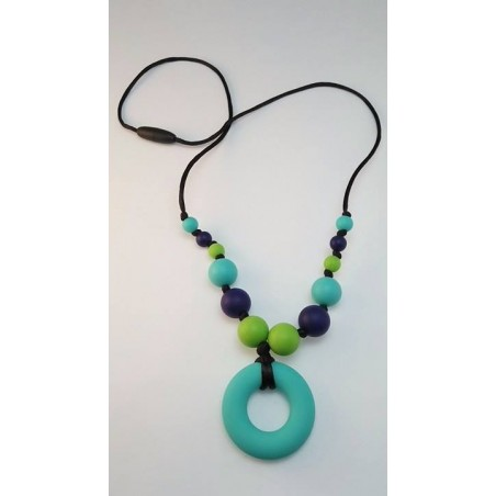 Nahrdelník donut tyrkys zelena nám.modrá