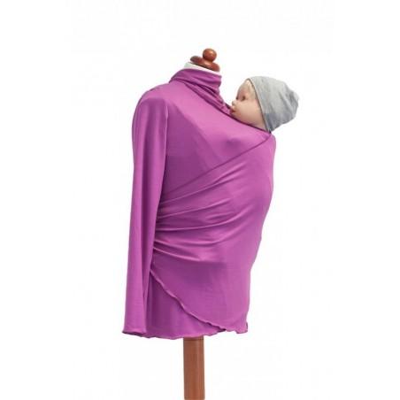 Zavinovací sveter ostružinová (letná verzia-bambus)
