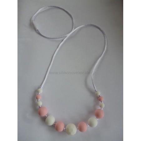Nahrdelník biela ružová skosený