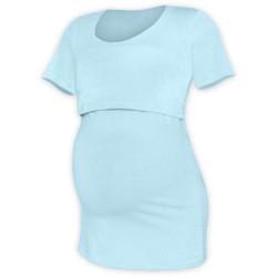 Kateřina - tričko na dojčenie, krátke rukávy, svetlo modrá