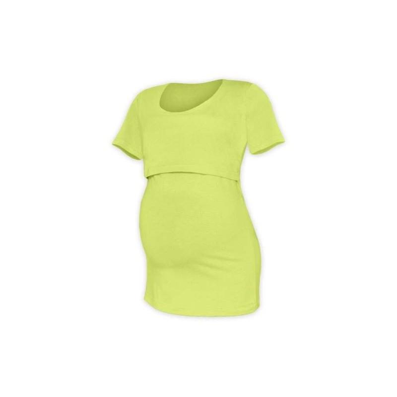 Kateřina - tričko na dojčenie, krátke rukávy, svetlo zelená