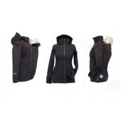 Softshellová bunda čierna