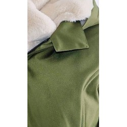 Bunda Wallaby Forest Green - Beige
