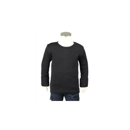 Manymonths tričko merino Foggy Black