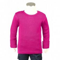 Manymonths tričko merino Lilac Rose