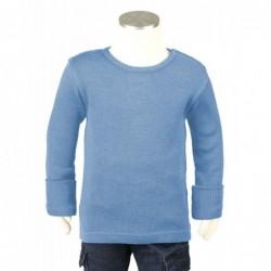 Manymonths tričko merino Provence Blue