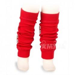 Merino návleky Wool Tube Poppy Red