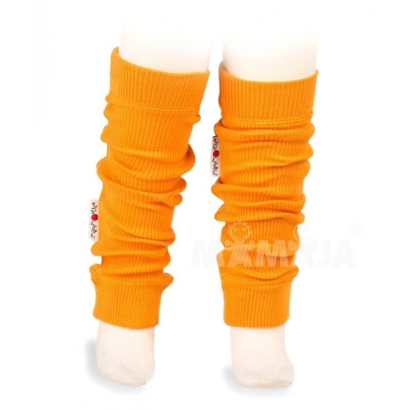 Merino návleky Wool Tube Saffron Yellow