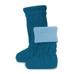 Merino topánočky Winter Provence Blue
