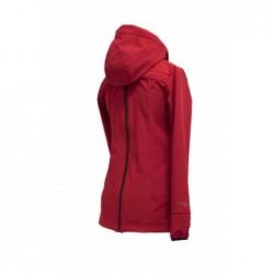 Softshellová bunda červená