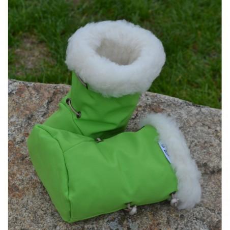 Softshellové čižmičky  zelené