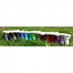 Softshellové čižmičky  fialové