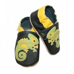Kožené capačky Babice Chameleón - dopredaj
