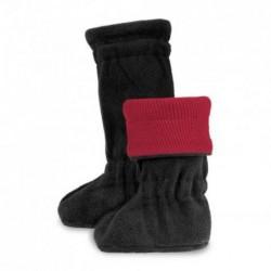 Merino topánočky Winter Raspberry Red