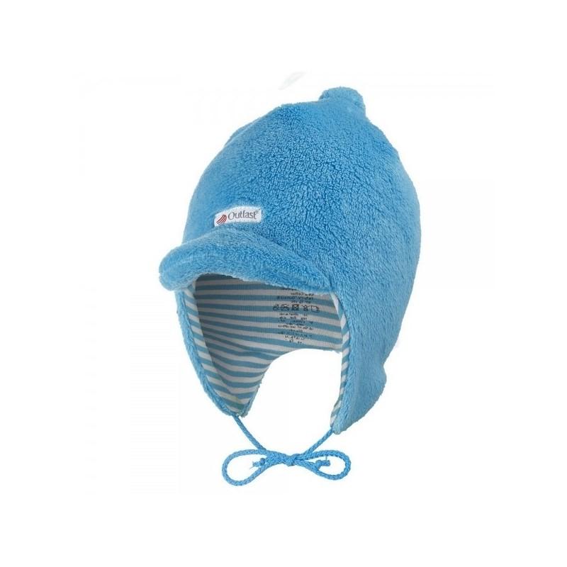 Šiltovka MAZLÍK Outlast® azúrovo modrá/pruh azúrovo modrý