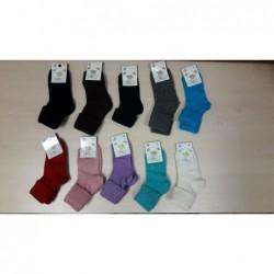 Vlnené ponožky Diba jednofarebné v. 5