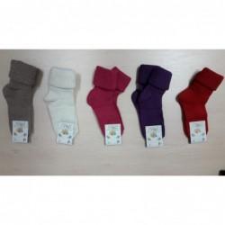 Vlnené ponožky Diba jednofarebné v. 7