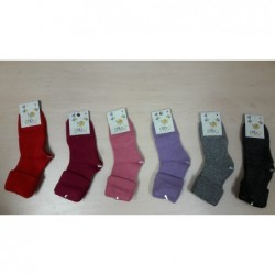 Vlnené ponožky Diba jednofarebné v. 9