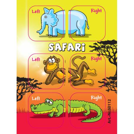 Samolepky Safari