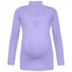 Klaudie - rolák na dojčenie, svetlo fialová
