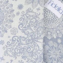 Nosič Fidella Fusion Iced Butterfly Light blue