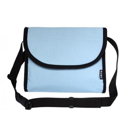 KiBi taška Modá s bodkami