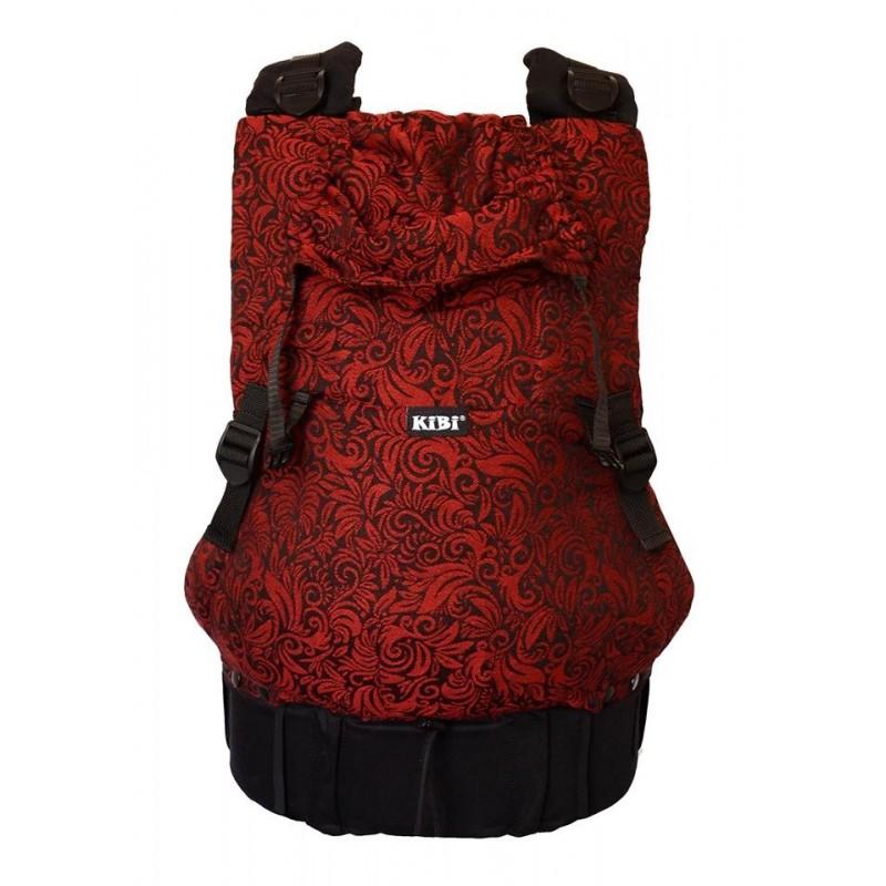 Nosič KiBi šatkový Flora Red Velvet