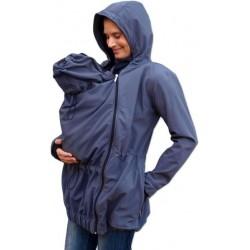 Pavla 2 - softshellová bunda na nosenie detí antracitová