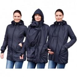 Zora - zimná bunda na nosenie detí čierna