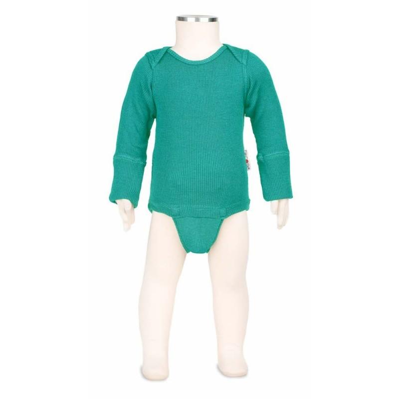 Manymonths body-tričko merino Royal Turquoise