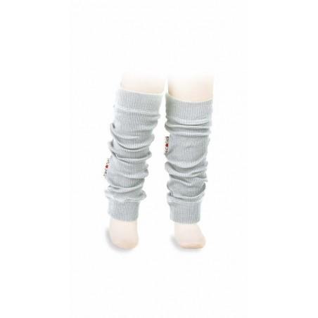 Merino návleky Wool Tube Bright Silver