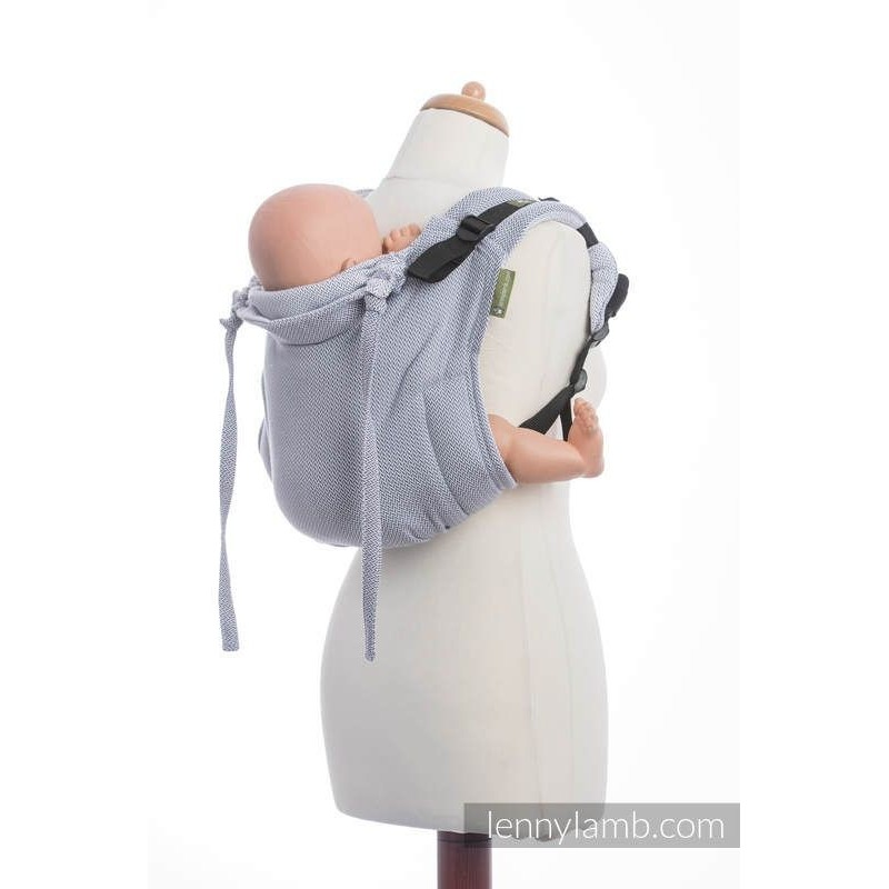 Onbuhimo Lenny Lamb Little Heringbone Grey Toddler