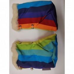 Softshellové čižmičky dúhové