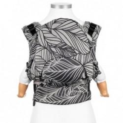Nosič Fidella Fusion Dancing Leaves Black&white