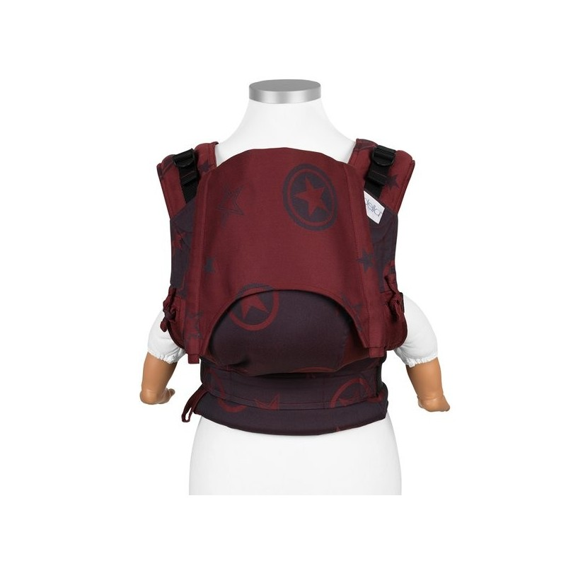 Nosič Fidella Fusion Outer Space ruby red